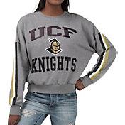 G-III For Her Women's UCF Knights Grey Freshman Crew Neck Sweatshirt