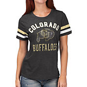 G-III For Her Women's Colorado Buffaloes Extra Point Black T-Shirt