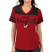 Touch by Alyssa Milano Women's Georgia Bulldogs Red Fair Shutout V-Neck T-Shirt