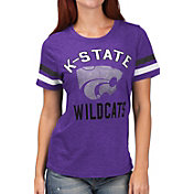 G-III For Her Women's Kansas State Wildcats Purple Extra Point T-Shirt