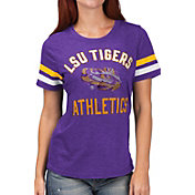 G-III For Her Women's LSU Tigers Purple Extra Point T-Shirt