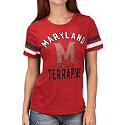 G-III For Her Women's Maryland Terrapins Red Extra Point T-Shirt