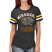 G-III For Her Women's Missouri Tigers Extra Point Black T-Shirt