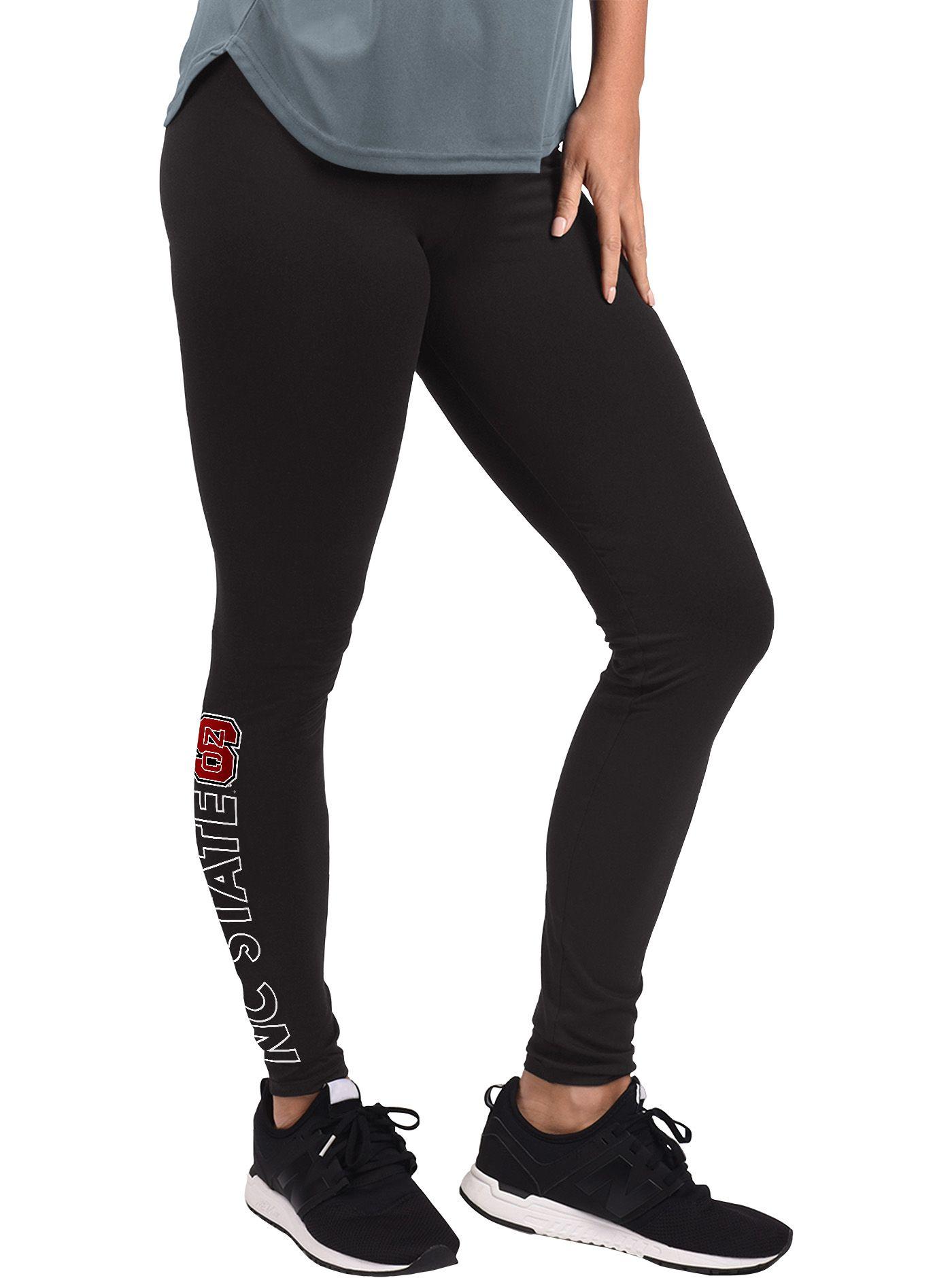G-III For Her Women's NC State Wolfpack MVP Black Leggings