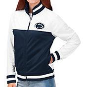G-III For Her Women's Penn State Nittany Lions Blue/White Face Off Full-Zip Jacket