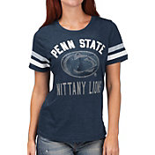 G-III For Her Women's Penn State Nittany Lions Blue Extra Point T-Shirt