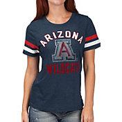 G-III For Her Women's Arizona Wildcats Navy Extra Point T-Shirt