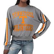 G-III For Her Women's Tennessee Volunteers Grey Freshman Crew Neck Sweatshirt
