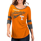 G-III For Her Women's Tennessee Volunteers Tennessee Orange Gamechanger 3/4 Sleeve Shirt