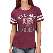 G-III For Her Women's Texas A&M Aggies Maroon Extra Point T-Shirt