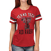 G-III For Her Women's Texas Tech Red Raiders Red Extra Point T-Shirt
