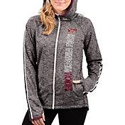 G-III For Her Women's Virginia Tech Hokies Grey Free Agent Full-Zip Hoodie