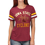 G-III For Her Women's Iowa State Cyclones Cardinal Extra Point T-Shirt