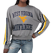 G-III For Her Women's West Virginia Mountaineers Grey Freshman Crew Neck Sweatshirt