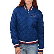 G-III for Her Women's Buffalo Bills Goal Line Full-Zip Bomber Jacket