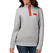 G-III for Her Women's Denver Broncos First Hit Quilted Pullover Jacket