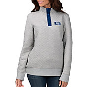 G-III for Her Women's Indianapolis Colts First Hit Quilted Pullover Jacket