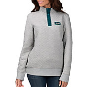 G-III for Her Women's Philadelphia Eagles First Hit Quilted Pullover Jacket