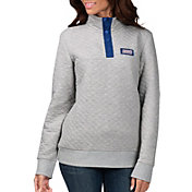 G-III for Her Women's New York Giants First Hit Quilted Pullover Jacket
