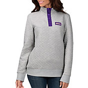 G-III for Her Women's Minnesota Vikings First Hit Quilted Pullover Jacket