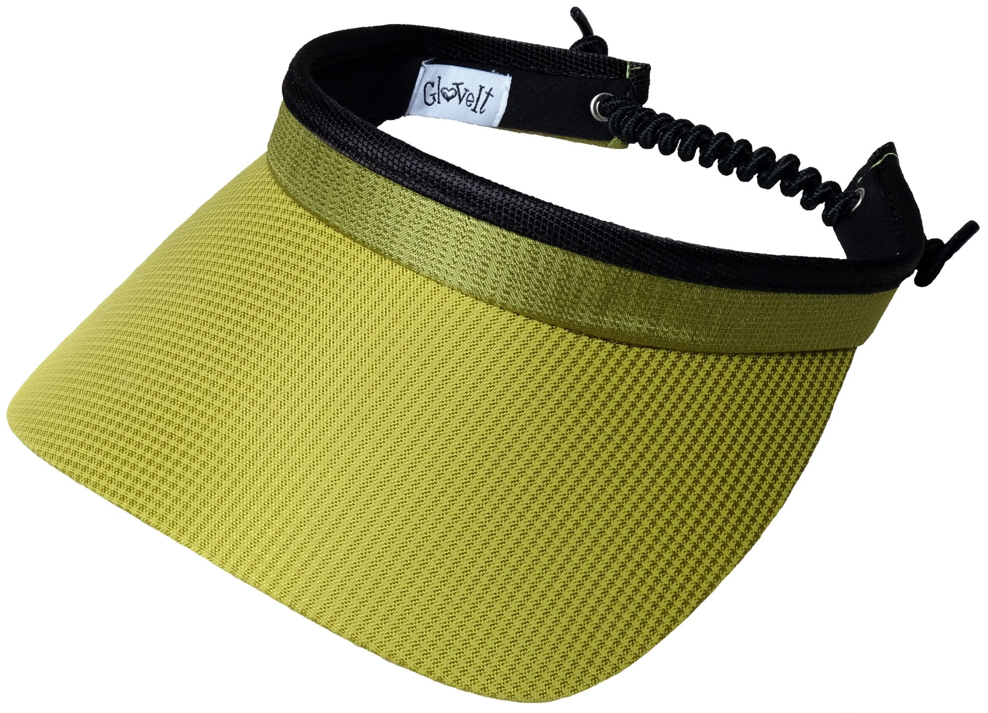 Glove It Women's Printed Coil Golf Visor, Size: One size, Green thumbnail