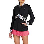 EleVen Women's Empire Blocked Tennis Jacket