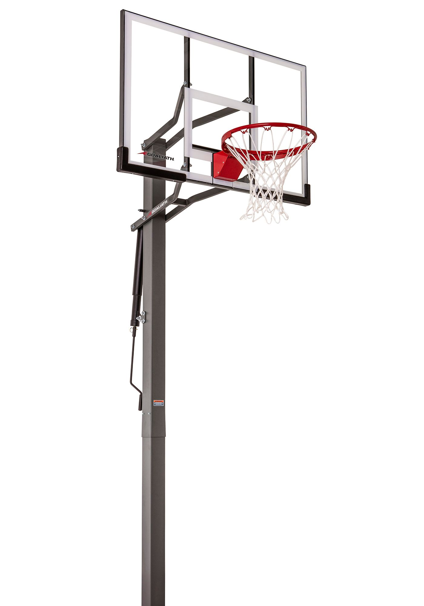 "Goaliath 50"" Warrior In-Ground Basketball Hoop"