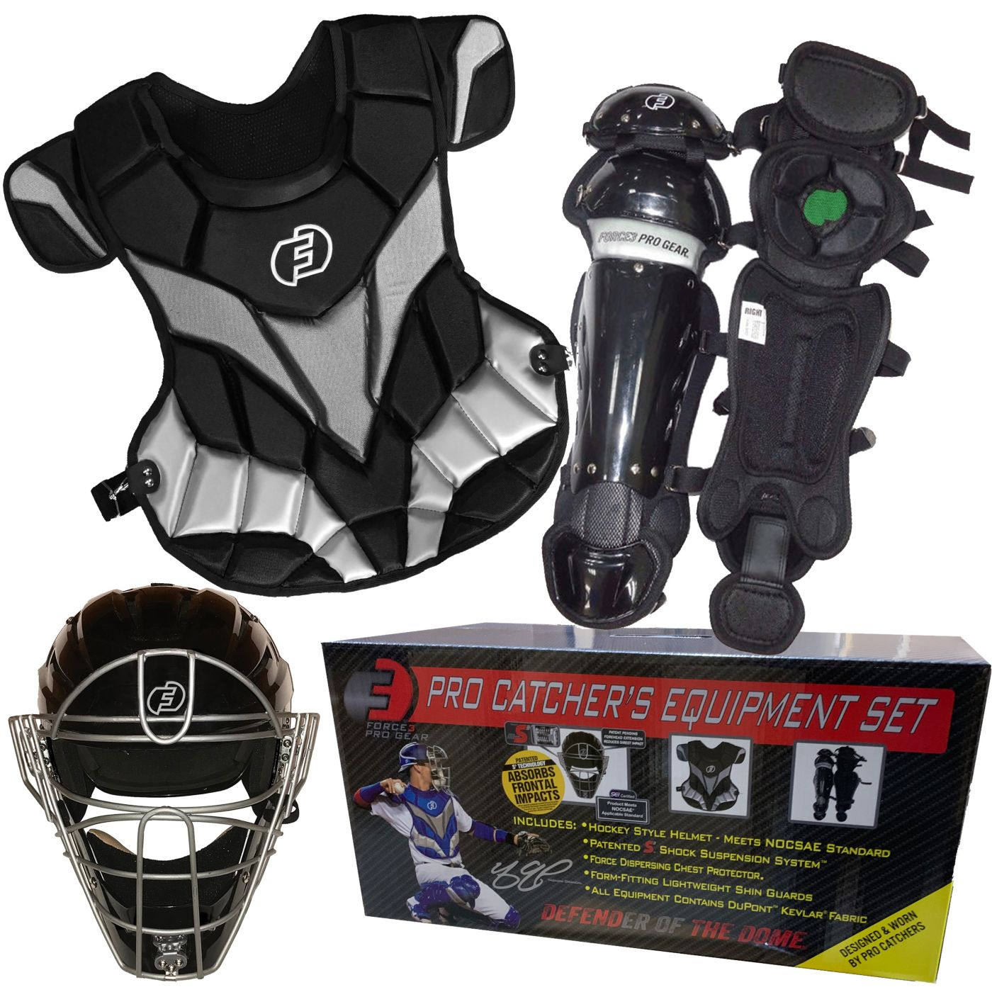 Force3 Pro Gear Youth Pro Catcher's Set 2019