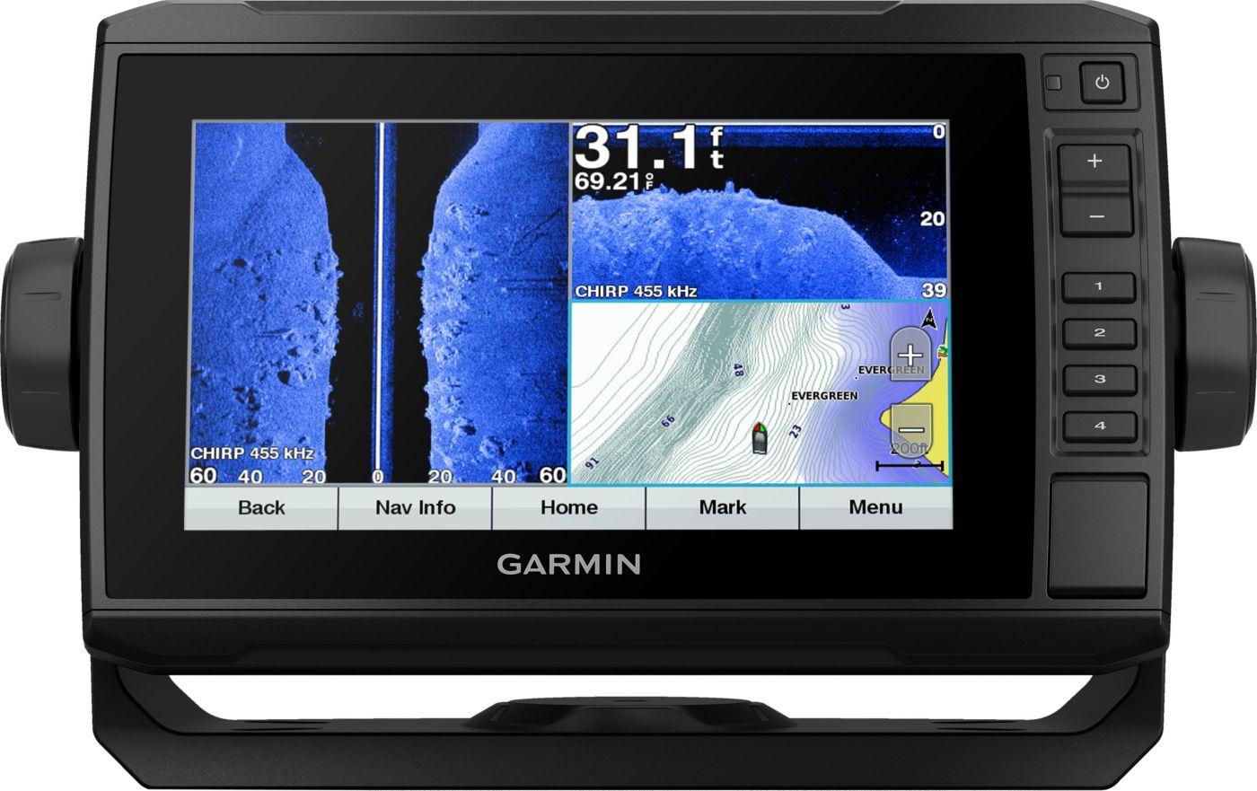 Garmin echoMAP Plus 73sv Lakevü G3 GPS Fish Finder (010-01897-05)