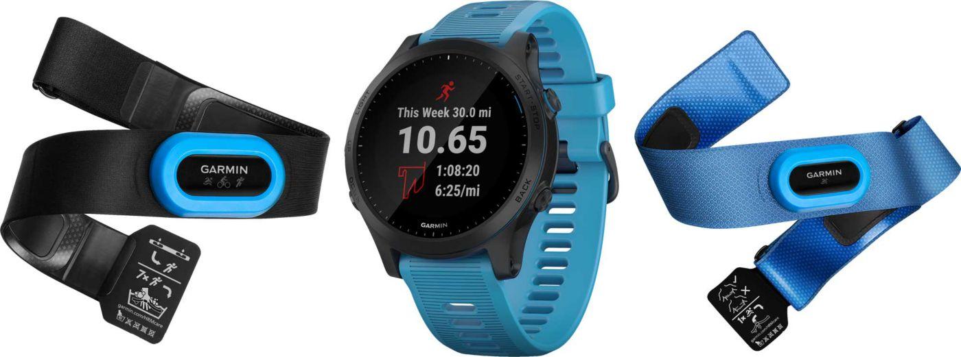 Garmin Forerunner 945 Music GPS Running Smartwatch Bundle