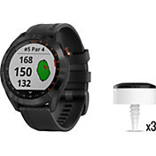 Garmin Approach S40 Golf GPS Watch with CT10 Club Tracking Sensors