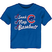 Gen2 Toddler Chicago Cubs ''Snack, Nap, Baseball'' T-Shirt
