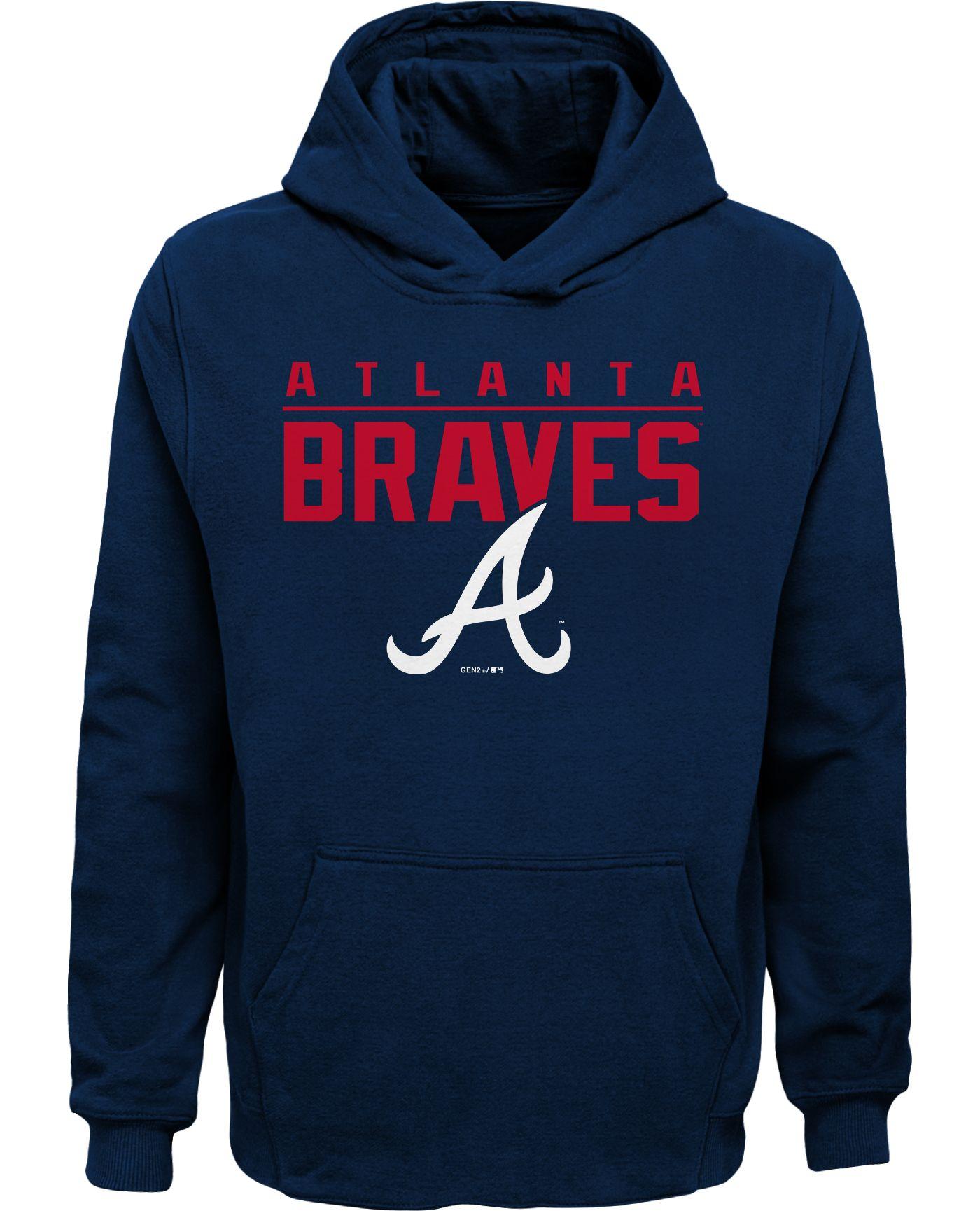 Gen2 Youth Atlanta Braves Pullover Hoodie