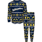 Gen2 Youth Milwaukee Brewers Pajama Set