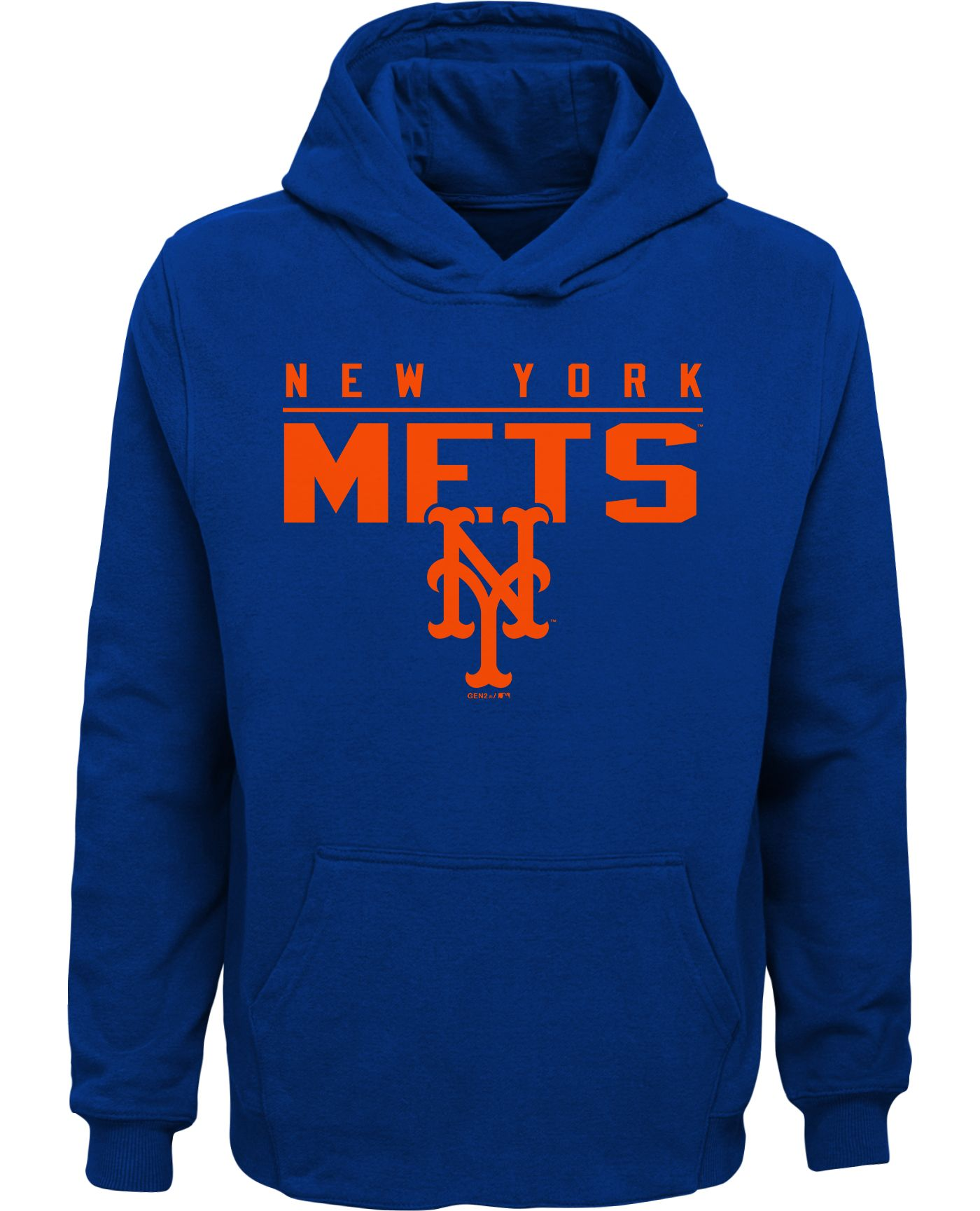 Gen2 Youth New York Mets Pullover Hoodie