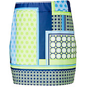 "EP Pro Women's 19"" Mixed Media Print Pull On Golf Skort"