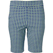 "EP Pro Women's 20"" Geo Print Pull On Golf Shorts"