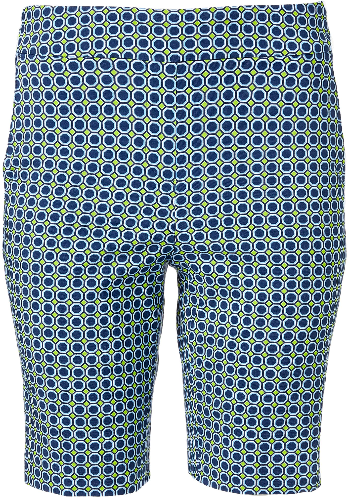 "EP Pro Women's 20"" Geo Print Pull On Golf Shorts"
