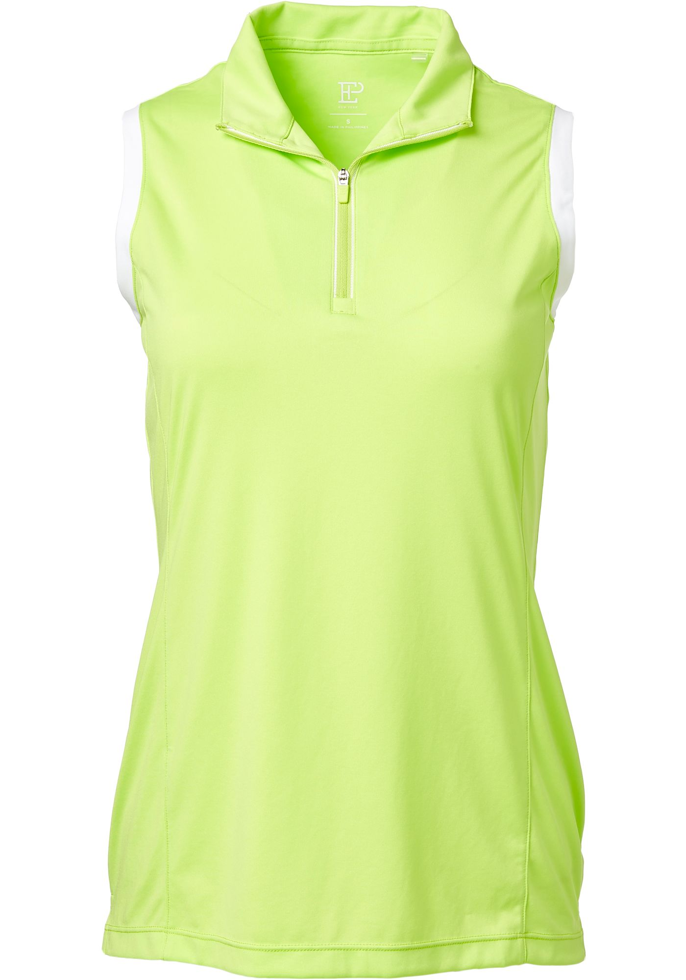 EP Pro Women's Sleeveless Convertible Zip Mock Golf Polo