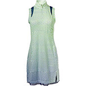 EP Pro Women's Sleeveless Gradated Dot Print Golf Dress