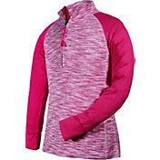 Garb Girls' Dana ½ Zip Long Sleeve Golf Pullover
