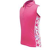 Garb Girls' Kaya ¼ Zip Sleeveless Golf Polo