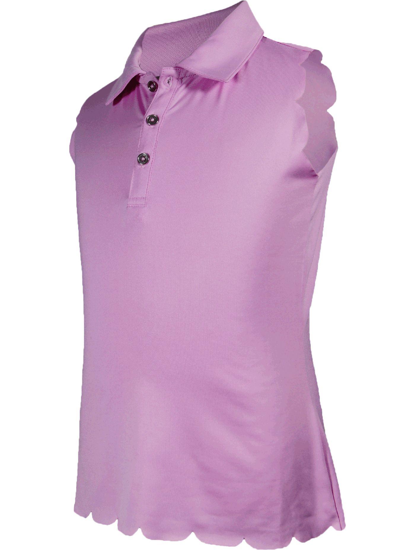 Garb Girls' Lauren Sleeveless Golf Polo