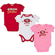 Gerber Infant Girls' San Francisco 49ers Onesie 3-Pack Bodysuit