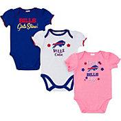 Gerber Infant Girls' Buffalo Bills Onesie 3-Pack Bodysuit