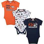 Gerber Infant Denver Broncos Onesie 3-Pack Bodysuit