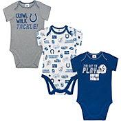 Gerber Infant Indianapolis Colts Onesie 3-Pack Bodysuit