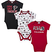 Gerber Infant Atlanta Falcons Onesie 3-Pack Bodysuit