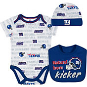 Gerber Infant New York Giants Bodysuit Bib Set
