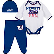 Gerber Infant New York Giants Onesie Footed Pants Set